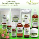 Pack 17 Mascarilla Capilar hidratante para cabello encrespado Pilar Nature mini